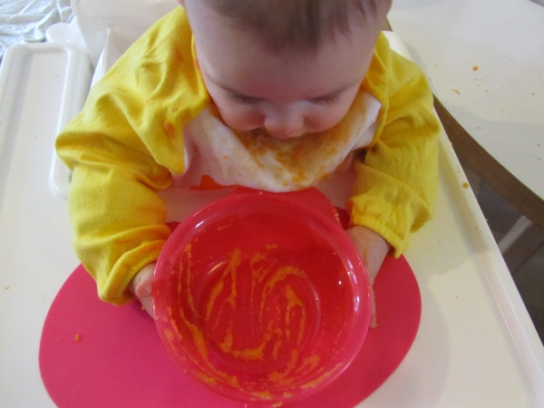 Healthy foodie Baby _ Sweet potato purée recipe