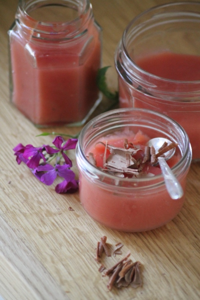 _Watermelon& Agave nectar Pudding@ healthyfoodiebaby