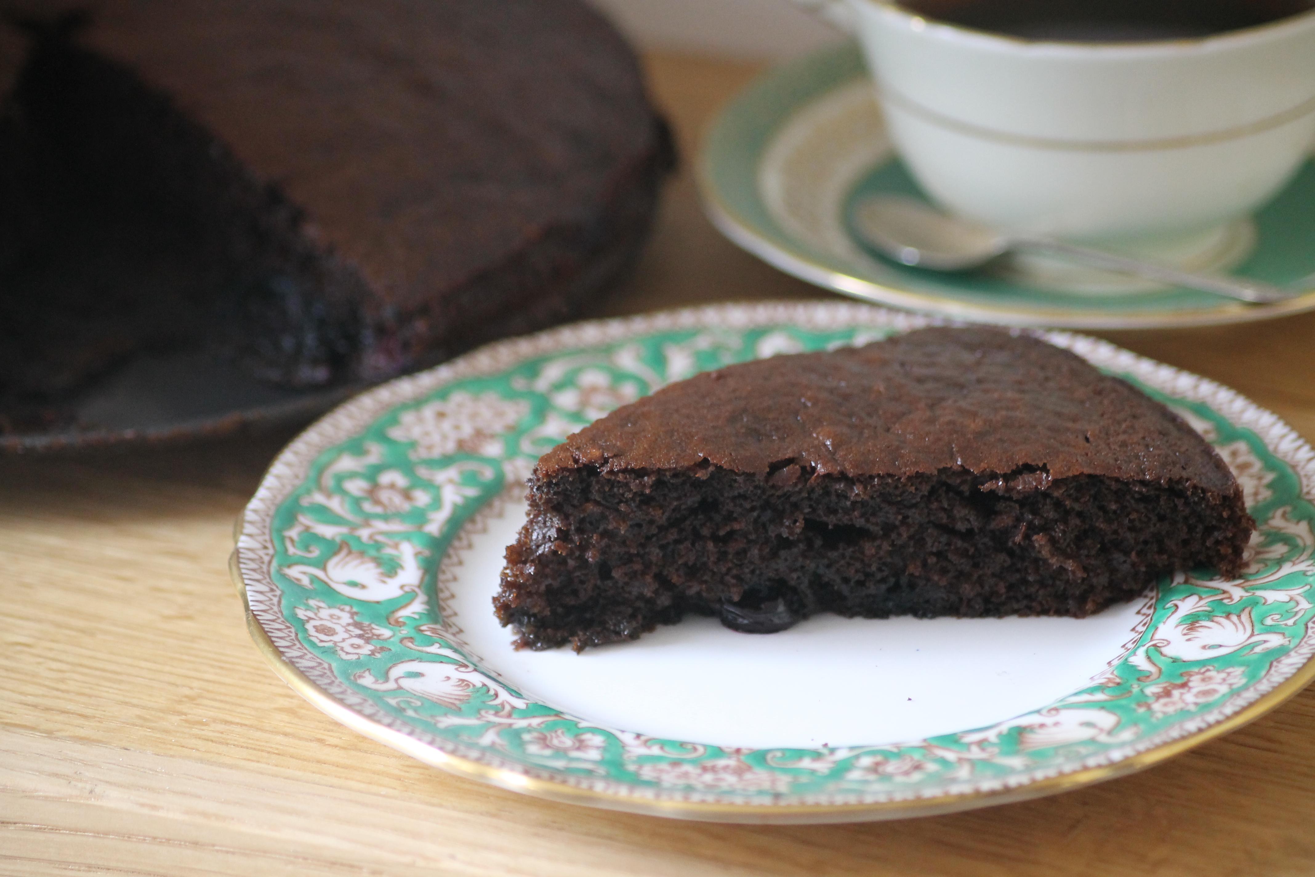 Blackstrap Molasses Cake