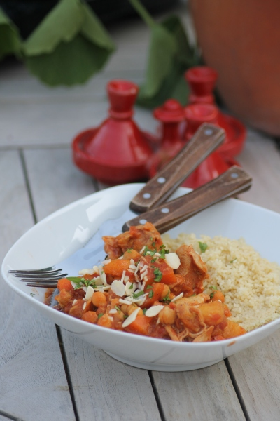 Slow-cooked Chicken, apricot&chickpea tagine@healthyfoodiebaby