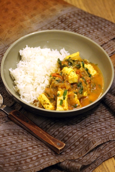 Baby friendly curry with paneer& spinach @healthyfoodiebaby