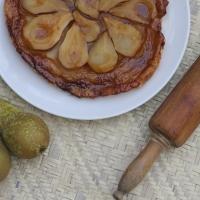 Pear Tarte Tatin  (refined sugar-free)