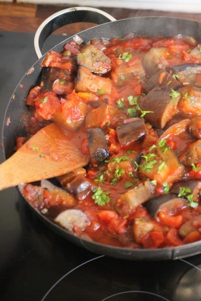 Caponata Aubergine stew@healthyfoodiebaby.com2