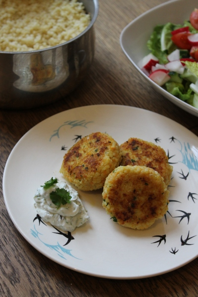 Millet croquettes @ healthy foodie baby