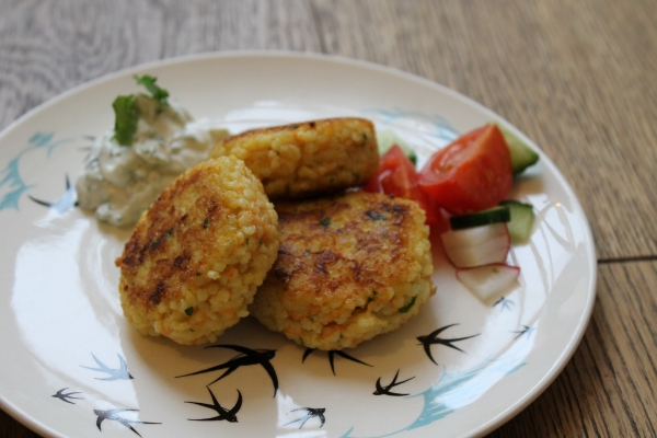 Millet croquettes@ healthy foodie baby 2