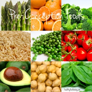 Pre-Conception Foods @healthyfoodiebaby.com