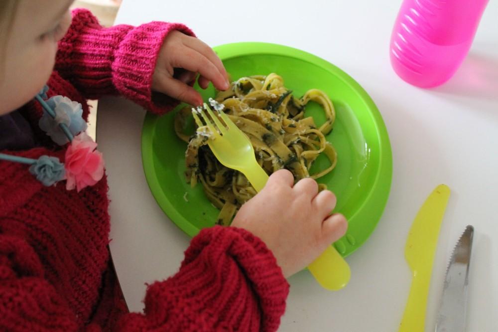 Fresh Pasta & Pesto @ healthyfoodiebaby