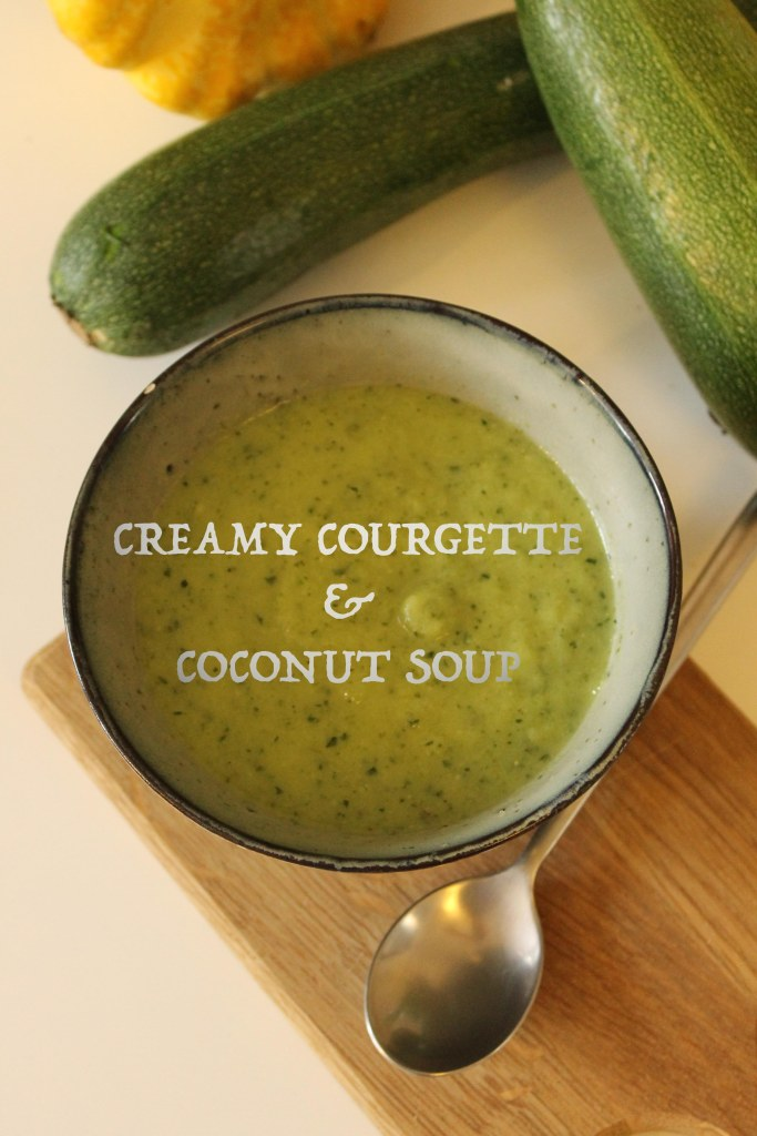 Creamy Courgette& Coconut soup @ healthyfoodiebaby