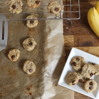 Healthy 3 Ingredient Cookie