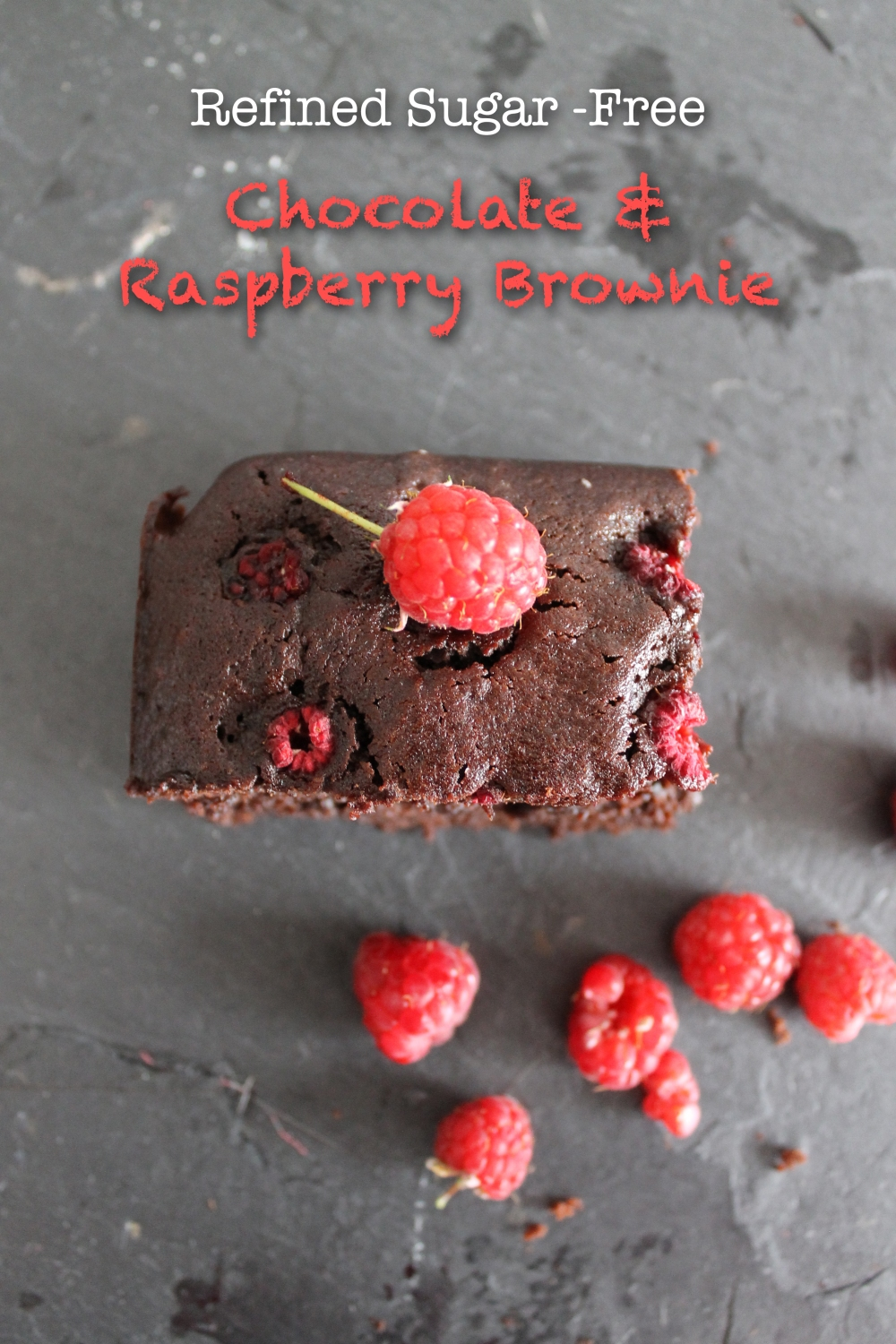 Chocolate & Raspberry Brownie