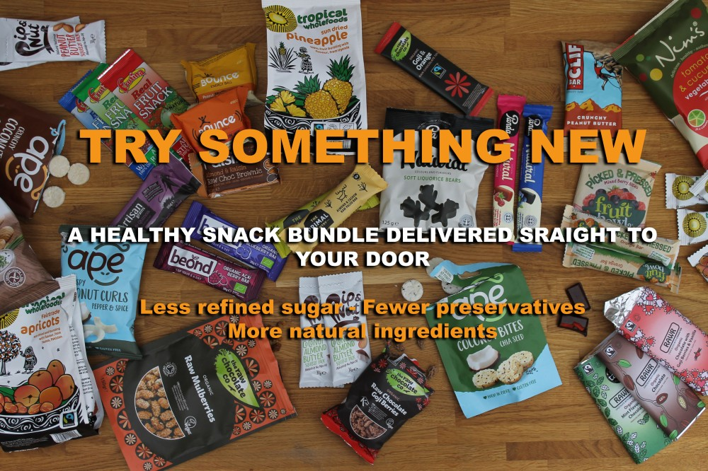 Snack bundle with text NEW